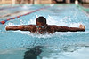 July 12, 2011 - Power.  This swimmer was particularly impressive in his efforts last week.  He just moved like a swimmer...very fluid and powerful.  In the water he was nothing short of amazing, besting his rivals by at least a quarter-pool-length.  But even in victory he was gracious to his competitors, laughing and smiling and just getting along.  It was a great display by who I'm sure will be a future college swimmer.  Enjoy the day, everyone!